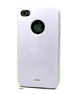 Rubber Plastic Bumper Cover Case for Apple iPhone 4S U589G