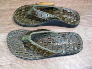 Womens Moszkito Archy Flip Flops Thongs Sandals 6 New