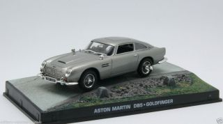 JAMES BOND ASTON MARTIN DBS V12 QUANTUM OF SOLACE DIECAST MODEL CAR 1