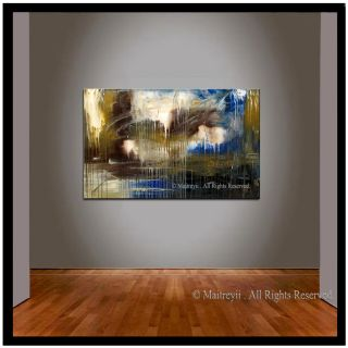 Large Sea Oil Painting Original Abstract Art Modern Paintings Wall