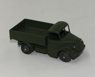 MILITARY DINKY TOYS 25WM BEDFORD TRUCK US ARMY EXPORT ISSUE MINT