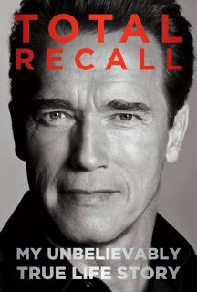 Total Recall Book by Arnold Schwarzenegger Signed Autographed Auto