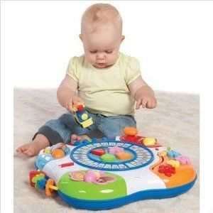 Baby Toy Letter Train And Piano Activity Learning Table Play Table NEW