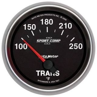 Auto Meter 7657 Sport Comp II 2 5 8 Short Sweep Electric Transmission