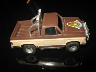 Vintage Aurora AFX Lee Majors Fall Guy Pickup HO Scale Slot Car