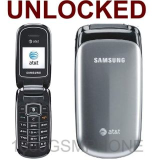 New Unlocked at T ATT Samsung SGH A107 Flip Cell Phone