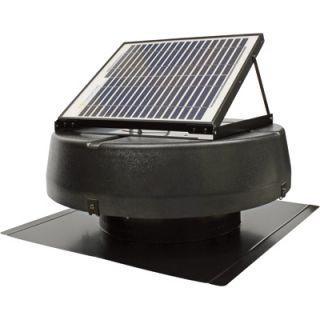 Sunlight Solar Powered Attic Fan  10W, Ventilates 1350 Sq. ft