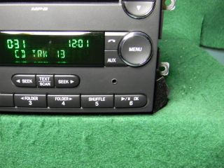 08 Ford Expedition  CD Radio Aux iPod SAT Input 8L1T 18C869 CD