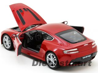 Welly 1 24 2012 Aston Martin V12 Vantage New Diecast Model Car
