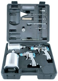New DEVILBISS HVLP Auto Paint Touch Up SPRAY GUN SYSTEM w 2