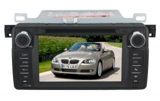 Auto DVD Player HD Car DVD Player GPS 6CDC for BMW BMW 3 Series E46