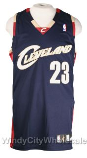 Cavaliers Lebron James Authentic Jersey Adidas NBA 52