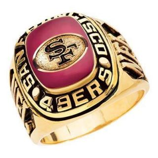 Balfour Trophy Display Ring San Francisco 49ers HUGE NFL NEW One Size