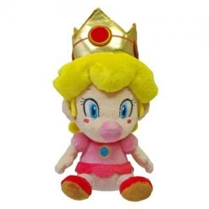 Sanei 5 Super Mario Plush Series Plush Doll Baby Peach