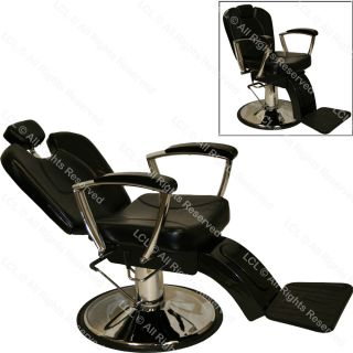 Professional Hydraulic Reclining Barber Chair Recline Beauty Spa Salon
