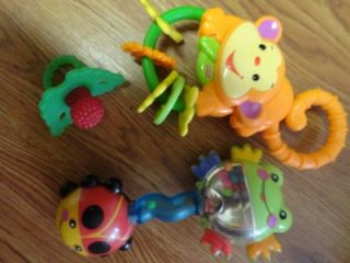of Teething Baby Toys Rattles NUBY Fisher Price Jungle Ice Teethers