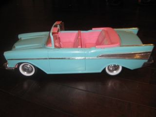 barbie 57 chevy bel air car furniture
