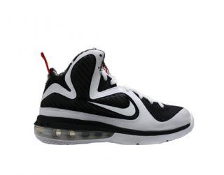 GS White Black Sport Red Big Kids Basketball Shoes 472664 101