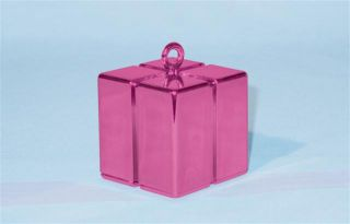magenta gift box solid balloon weight £ 1 00