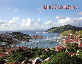 St Barthelemy St Barts Travel Souvenir Fridge Magnet