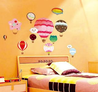 Reusable Wall Stickers DIY Mural Decals Home Dorm Decor Vinyl Art Hot