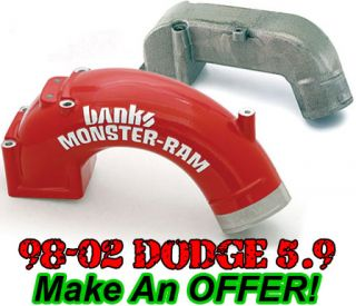 Banks Power High RAM Intake Manifold 1998 5 2002 Dodge Cummins 5 9L
