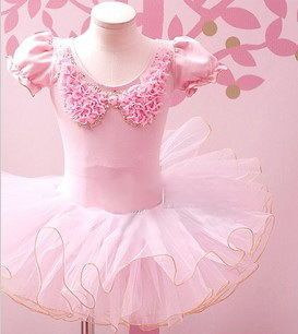 Girls New Leotard Ballet Tutu Dance Party Dress 3 9Y Kids Skate Skirt