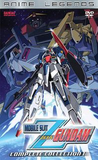 Mobile Suit Zeta Gundam   Complete Collection I DVD, 2008, 5 Disc Set