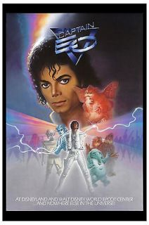 michael jackson captain eo movie poster circa 1986 time left