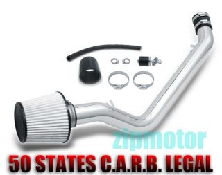 96 98 HONDA CIVIC EX HX COLD AIR INTAKE+FILTER POLISH (Fits 1998