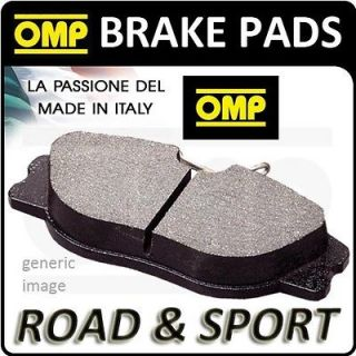 OMP FRONT BRAKE PADS PEUGEOT 207 1.6 16V TURBO GTI/RC 174HP 06  (OT