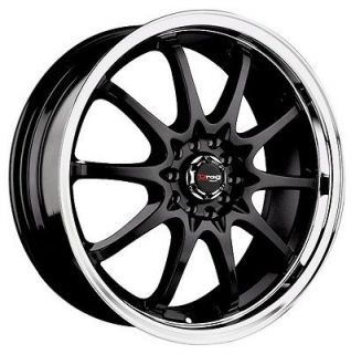 Newly listed 18 DRAG DR9 BLACK WHEELS RIMS DODGE NEON LANCER ELANTRA