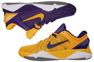Nike Kobe VII GS Purple Gold Yin Yang Youth Basketball Shoes 505399