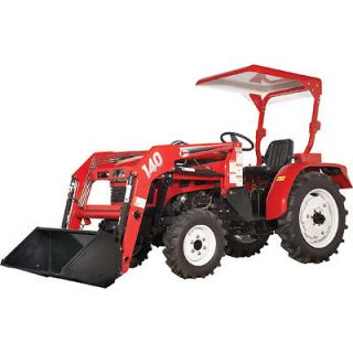NorTrac 20XT 20HP 4WD Tractor with Front  End Loader