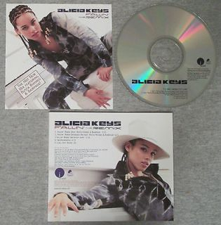 Alicia Keys   Fallin the Remix Busta Rhymes   2001 U.S. PROMO cd