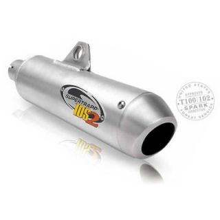 new supertrapp ids2 exhaust pipe suzuki dr 250 350 time