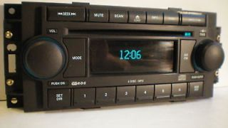 DISC CD/ PLAYER/CHANGER RADIO STEREO (Fits 2005 Chrysler 300
