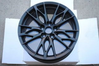 ISF Style Matte Black Wheels Rims Fits LS 400 430 460 600h All Models