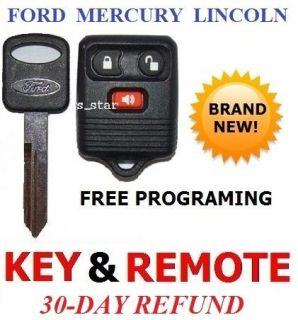 NEW FORD MERCURY LINCOLN SUV TRUCK KEYLESS REMOTE + KEY (Fits Lincoln