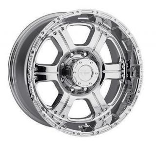 PRO COMP ALLOY WHEELS 16 x 8 POLISHED BEADLOCKS 5x5   Set of 4