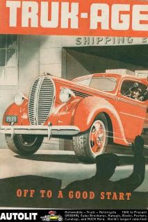 1938 Ford Truck Brochure Woodie Station Wagon Sedan Delivery Pickup