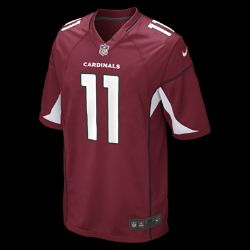 Nike NFL Arizona Cardinals (Larry Fitzgerald) Mens Football Home Game