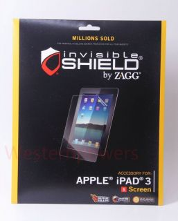 ZAGG invisibleSHIELD for Apple New iPad 3 Screen Protector