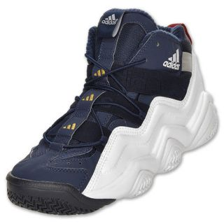 Mens Adidas Top Ten 2000 Basketball Shoes Dark Indigo Gold White