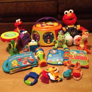 Lot of Baby Developmental Activity Toys Leap Frog VTech Infantino