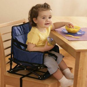 New Regalo Portable Booster Seat Folding High Chair