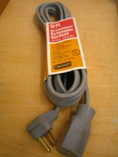 Cornish 06713991009 Air Conditioner EXTENSION CORD SET 9 ft 14