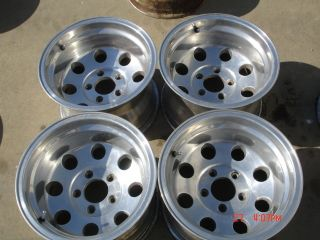 American Racing Alcoa Baja Polished Wheels Chevy Truck 5x5
