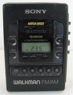 Sony Wm F2085 Walkman Digital Am FM Radio Cassette Player