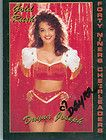 DAYNA JOSEPH SEXY SIGNED COLOR TRADING CARD 49ERS GOLD RUSH